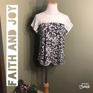PL faith and joy (Los Angeles) women's shirt